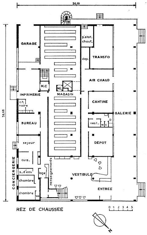 Section pharmacie de la biblioth que universitaire de for Plans d imprimerie