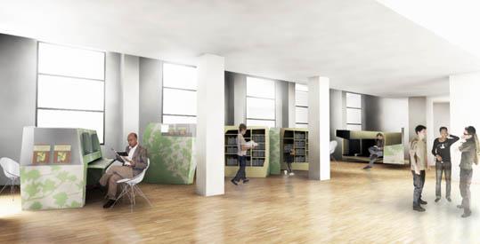 pr sentation du projet de m diath que l h pital claude. Black Bedroom Furniture Sets. Home Design Ideas
