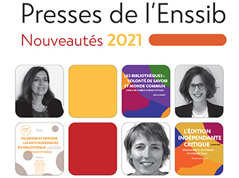 catalogue des Presses de l'Enssib 2021